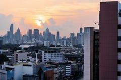 Άποψη της Μπανγκόκ, στην Ταϊλάνδη στοκ φωτογραφία με δικαίωμα ελεύθερης χρήσης