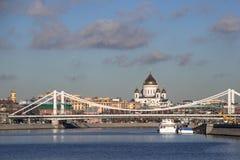 Άποψη της Μόσχας από το πάρκο του Γκόρκυ στοκ εικόνες