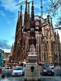 Άποψη της Νίκαιας σχετικά με Sagrada Familia στοκ φωτογραφία με δικαίωμα ελεύθερης χρήσης