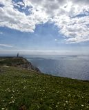 Άποψη της Νίκαιας του ακρωτηρίου Roca, Πορτογαλία Στοκ Εικόνες
