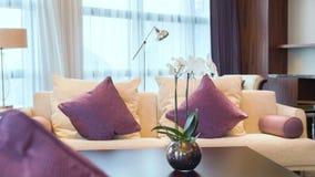 Άποψη της Νίκαιας του δωματίου ξενοδοχείου πιό interier φιλμ μικρού μήκους