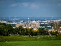Άποψη της νότιας Βιέννης στοκ φωτογραφία