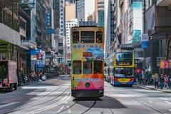Άποψη της οδού κεντρικών πόλεων στοκ φωτογραφίες με δικαίωμα ελεύθερης χρήσης