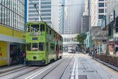 Άποψη της οδού κεντρικών πόλεων στοκ εικόνες με δικαίωμα ελεύθερης χρήσης