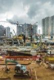 Άποψη της οικοδομής δυτικού Kowloon στο Χονγκ Κονγκ Στοκ Εικόνες