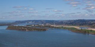Άποψη της Ουάσιγκτον από το Vista σπίτι στοκ φωτογραφία με δικαίωμα ελεύθερης χρήσης