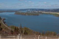 Άποψη της Ουάσιγκτον από το Vista σπίτι στοκ εικόνα με δικαίωμα ελεύθερης χρήσης