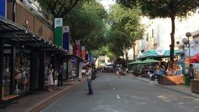 Άποψη της οδού σε Saigon, Βιετνάμ απόθεμα βίντεο