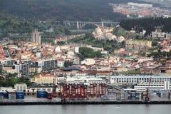 Άποψη της παραλίας της Λισσαβώνας, Πορτογαλία Στοκ εικόνες με δικαίωμα ελεύθερης χρήσης