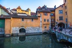 Άποψη της παλαιάς πόλης του Annecy Γαλλία Στοκ εικόνες με δικαίωμα ελεύθερης χρήσης