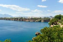 Άποψη της περιοχής Konyaalti σε Antalya Τουρκία Στοκ Φωτογραφίες