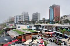 Άποψη της περιοχής Miraflores στη Λίμα, Περού Στοκ Φωτογραφίες