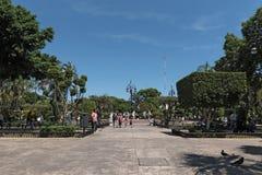 Άποψη της πλατείας ή Plaza de Λα Independencia Plaza Grande στο Μέριντα, Μεξικό Στοκ φωτογραφίες με δικαίωμα ελεύθερης χρήσης