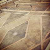 Άποψη της πλατείας Duomo στο Μιλάνο Στοκ Εικόνες