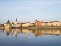 Άποψη της Πράγας, Δημοκρατία της Τσεχίας Στοκ Εικόνες