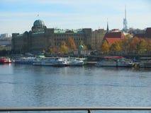 Άποψη της Πράγας, κεντρική Ευρώπη στοκ εικόνα