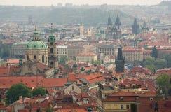 Άποψη της Πράγας Στοκ εικόνες με δικαίωμα ελεύθερης χρήσης