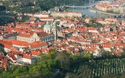 Άποψη της Πράγας Στοκ Εικόνα