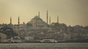 Άποψη της πόλης της Ιστανμπούλ από το σκάφος Τουρκία φιλμ μικρού μήκους