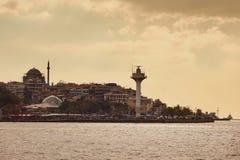 Άποψη της πόλης της Ιστανμπούλ, Τουρκία Στοκ εικόνες με δικαίωμα ελεύθερης χρήσης