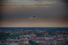 Άποψη της πόλης, Μπέργκαμο, Ιταλία Στοκ εικόνα με δικαίωμα ελεύθερης χρήσης