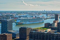 Άποψη της πόλης του Ρότερνταμ Στοκ εικόνες με δικαίωμα ελεύθερης χρήσης