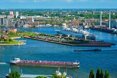 Άποψη της πόλης του Ρότερνταμ Στοκ φωτογραφίες με δικαίωμα ελεύθερης χρήσης