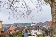 Άποψη της πόλης Cetinje στο Μαυροβούνιο στοκ εικόνα με δικαίωμα ελεύθερης χρήσης