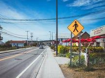 Άποψη της πόλης Perce Gaspesie Καναδάς Στοκ φωτογραφία με δικαίωμα ελεύθερης χρήσης