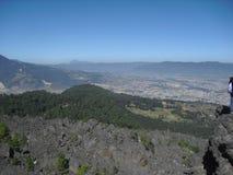 Άποψη της πόλης Quetzaltenango από Cerro το Λα Muela σε Quetzaltenango, Γουατεμάλα 5 στοκ εικόνα