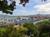 Άποψη της πόλης, Βιετνάμ Στοκ εικόνα με δικαίωμα ελεύθερης χρήσης