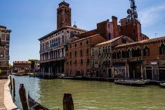 Άποψη της πόλης της Βενετίας, Ιταλία Στοκ Εικόνες