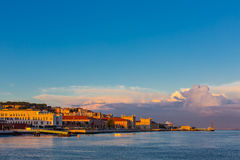 Άποψη της πόλης της Λισσαβώνας, Πορτογαλία Στοκ Φωτογραφίες