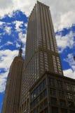 Άποψη της πόλης της Νέας Υόρκης, ΗΠΑ οικοδόμηση του νέου κράτους ΗΠΑ Υόρκη του Μανχάτταν αυτοκρατοριών Στοκ Φωτογραφίες