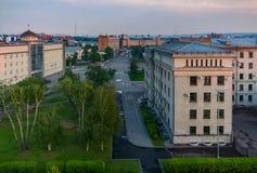 Άποψη της πόλης του Ιρκούτσκ το Μάιο Στοκ φωτογραφία με δικαίωμα ελεύθερης χρήσης