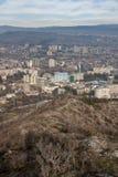 Άποψη της πόλης του Tbilisi Στοκ Φωτογραφία
