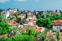 Άποψη της πόλης Antalya, Τουρκία Στοκ εικόνα με δικαίωμα ελεύθερης χρήσης