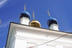 Άποψη της πόλης Ples, Ρωσία Εκκλησία Αγίου Barbara Στοκ φωτογραφίες με δικαίωμα ελεύθερης χρήσης