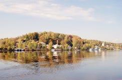 Άποψη της πόλης Ples, Ρωσία Στοκ φωτογραφίες με δικαίωμα ελεύθερης χρήσης