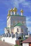 Άποψη της πόλης Ples, Ρωσία Στοκ Εικόνα