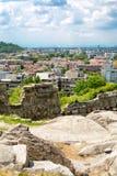 Άποψη της πόλης Plovdiv, Βουλγαρία Στοκ εικόνες με δικαίωμα ελεύθερης χρήσης