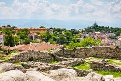 Άποψη της πόλης Plovdiv, Βουλγαρία Στοκ Φωτογραφίες