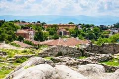 Άποψη της πόλης Plovdiv, Βουλγαρία Στοκ εικόνα με δικαίωμα ελεύθερης χρήσης