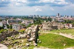 Άποψη της πόλης Plovdiv, Βουλγαρία Στοκ Φωτογραφία