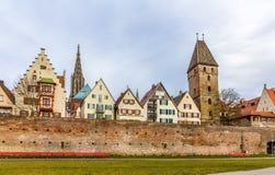 Άποψη της πόλης Ulm - Γερμανία Στοκ εικόνες με δικαίωμα ελεύθερης χρήσης