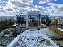 Ρόδα ματιών του Λονδίνου στοκ φωτογραφία με δικαίωμα ελεύθερης χρήσης