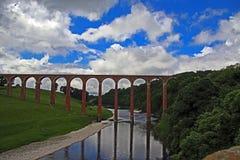 Άποψη της σκωτσέζικης χώρας συνόρων Στοκ Εικόνα