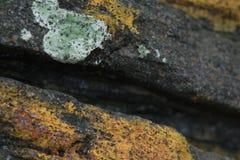 Άποψη της σύστασης βράχου, Λισσαβώνα στοκ φωτογραφίες