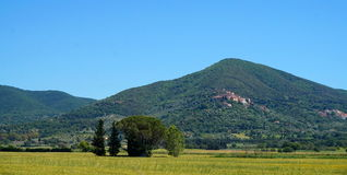 Άποψη της Τοσκάνης στοκ φωτογραφία με δικαίωμα ελεύθερης χρήσης