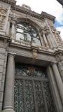 Άποψη της τράπεζας της Ισπανίας, Μαδρίτη Banco de España Στοκ φωτογραφία με δικαίωμα ελεύθερης χρήσης